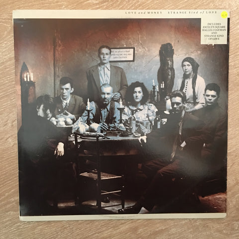 Love And Money ‎– Strange Kind Of Love - Vinyl LP Record - Opened  - Very-Good+ Quality (VG+)