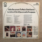 Los Zafiros And Felix De Ypacarai And His Paraguayans ‎– The Music Of South America - Vinyl LP Record - Opened  - Very-Good Quality (VG) - C-Plan Audio
