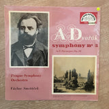 Antonín Dvorak, The Prague Symphony Orchestra, Vaclav Smetacek ‎– Symphony No. 3 In E Flat Major, Op. 10 - Vinyl LP Record - Opened  - Very-Good+ Quality (VG+)