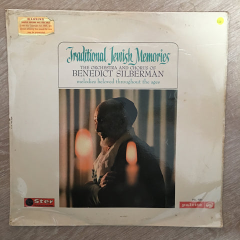 Benedict Silberman His Orchestra And Chorus ‎– Jewish Memories - Vinyl LP Record - Opened  - Very-Good Quality (VG)