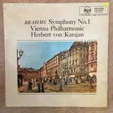Brahms ‎– Symphony No. 1 In C Minor, Opus 68  - Vinyl LP Record - Opened  - Very-Good+ Quality (VG+) - C-Plan Audio