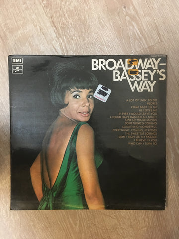 Shirlet Bassey - Broadway Bassey's Way  - Vinyl LP Record - Opened  - Very-Good+ Quality (VG+) - C-Plan Audio