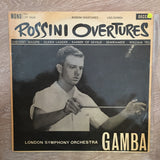 Rossini - The London Symphony Orchestra / Pierino Gamba ‎– Rossini Overtures - Vinyl LP Record - Opened  - Very-Good+ Quality (VG+) - C-Plan Audio