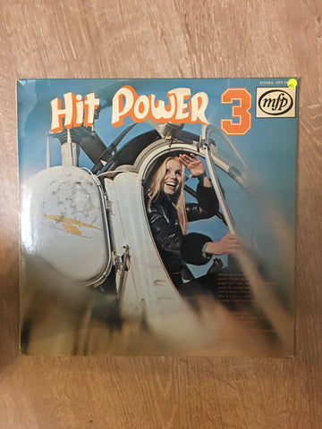 Hit Power Vol 3 - Vinyl LP Record - Opened  - Very-Good Quality (VG) - C-Plan Audio