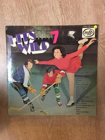 Hits Wild 7 - Vinyl LP Record - Opened  - Very-Good Quality (VG) - C-Plan Audio