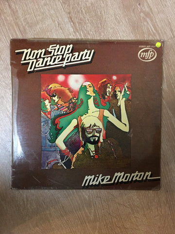 Mike Morton - Non Stop Dance Party  - Vinyl LP Record - Opened  - Very-Good+ Quality (VG+) - C-Plan Audio