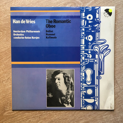 Han De Vries - Amsterdam Philharmonic Orchestra ‎– The Romantic Oboe  - Vinyl LP Opened - Near Mint Condition (NM)