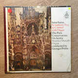 Saint-Saens-  The Paris Conservatoire Orchestra,– Symphony No. 3 In C Minor With Organ.  - Vinyl LP Opened - Near Mint Condition (NM) - C-Plan Audio