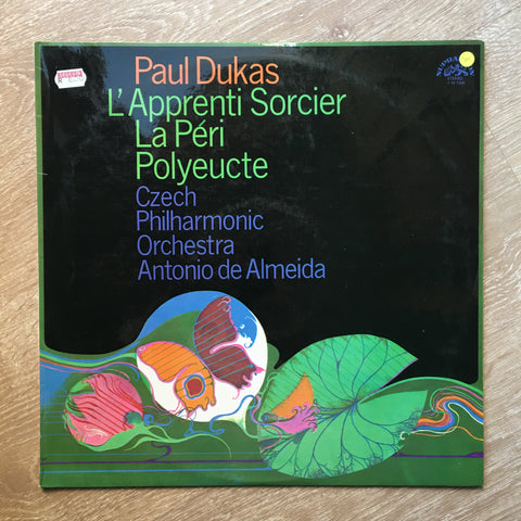 Paul Dukas, Czech Philharmonic Orchestra, Antonio De Almeida ‎– L'Apprenti Sorcier / La Péri / Polyeucte - Vinyl LP Opened - Near Mint Condition (NM) - C-Plan Audio