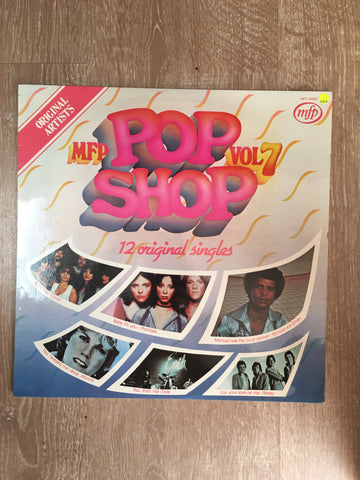 Pop Shop - Vol 7  - Vinyl LP - Opened  - Very-Good+ Quality (VG+) - C-Plan Audio