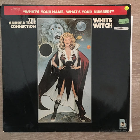Andrea True Connection ‎– White Witch - Vinyl LP Record - Opened  - Very-Good Quality (VG)