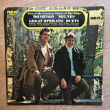 Domingo / Milnes ‎– Great Operatic Duets -  Vinyl LP Record - Opened  - Very-Good+ Quality (VG+)