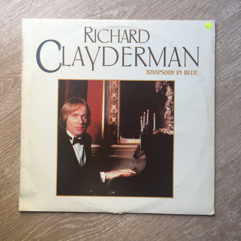 Richard Clayderman - Rhapsoy In Blue -  Vinyl LP Record - Opened  - Very-Good+ Quality (VG+)