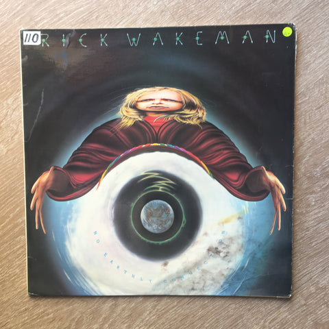 Rick Wakeman And The English Rock Ensemble ‎– No Earthly Connection -  Vinyl LP Record - Opened  - Very-Good+ Quality (VG+)