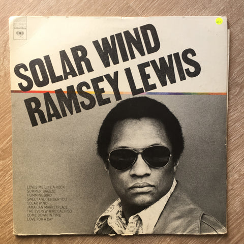 Ramsey Lewis - Solar Wind - Vinyl LP - Opened  - Very-Good+ Quality (VG+)