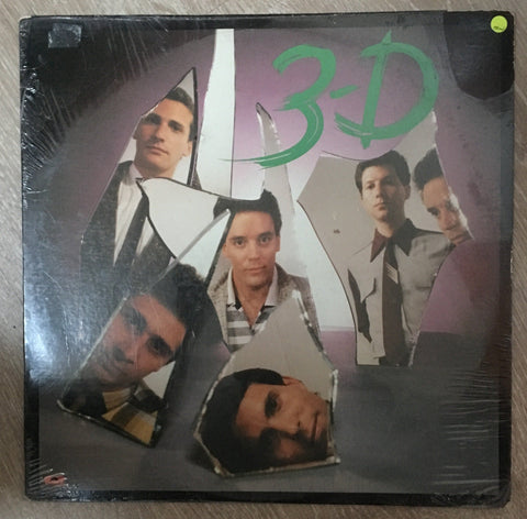 3D -  Vinyl LP - New Sealed