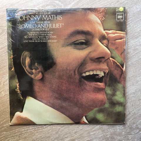 Johnny Mathis - Love Theme From Romeo & Juliet  - Vinyl LP Record  - Opened  - Very-Good- Quality (VG-) - C-Plan Audio