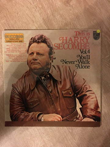 This is Harry Secombe - Vol 4 - You'll Never Walk Alone - Vinyl LP Record - Opened  - Good+ Quality (G+) - C-Plan Audio