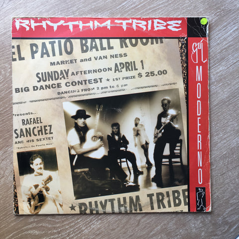Rhythm Tribe ‎– Sol Moderno - Vinyl Record - Opened  - Very-Good Quality (VG) - C-Plan Audio