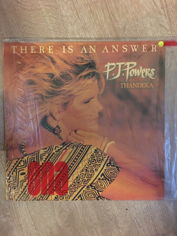 P.J Powers - There is an Answer - Thandeka - Vinyl LP Record - Opened  - Very-Good+ Quality (VG+) - C-Plan Audio