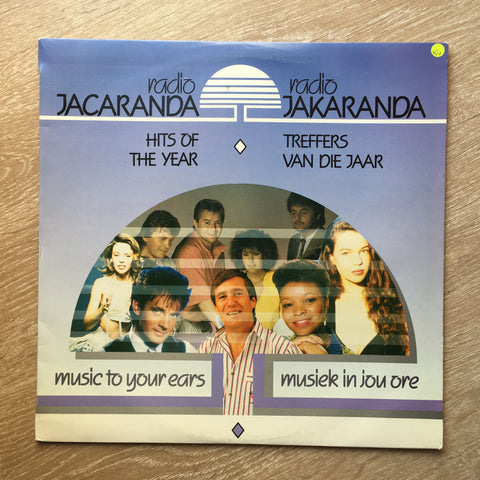 Radio Jacaranda - Hits Of The Year -  Vinyl LP Record - Opened  - Very-Good+ Quality (VG+) - C-Plan Audio