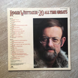 Roger Whittaker - 20 All Time Greats - Vinyl Record - Opened  - Very-Good Quality (VG) - C-Plan Audio