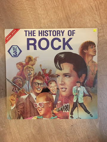 Various - The History of Rock Vol 3 - Vinyl LP Record - Opened  - Very-Good- Quality (VG-) - C-Plan Audio
