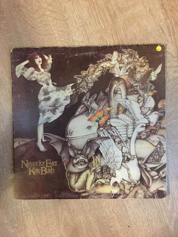 Kate Bush - Never For Ever - Vinyl LP Record - Opened  - Very-Good Quality (VG) - C-Plan Audio