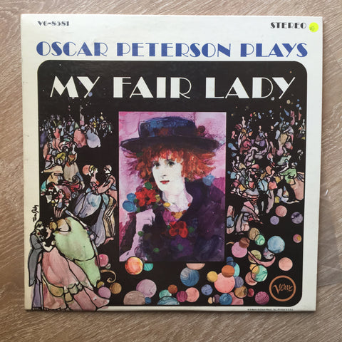 Oscar Peterson Plays My Fair Lady -  Vinyl Record - Opened  - Very-Good Quality (VG) - C-Plan Audio