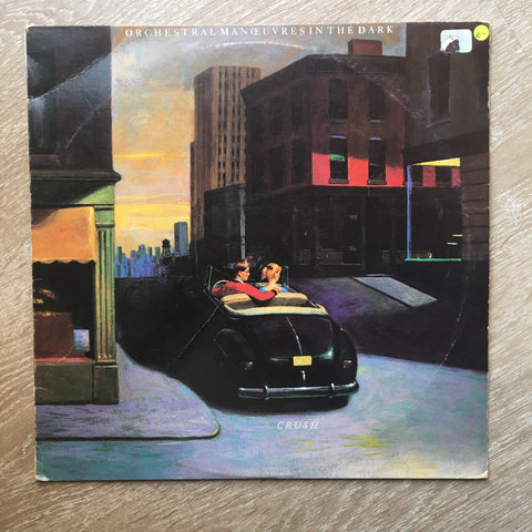 Orchestral Manoeuvres In The Dark ‎– Crush  - Vinyl LP Record - Opened  - Very-Good- Quality (VG-)