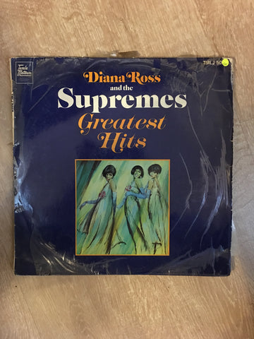 Diana Ross and The Supremes - Greatest Hits - Vinyl LP Record - Opened  - Good+ Quality (G+) - C-Plan Audio