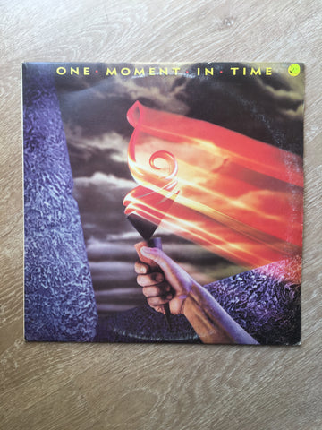 Various ‎– One Moment In Time - Vinyl LP Record - Opened  - Very-Good+ Quality (VG+)