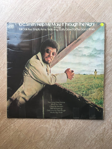 O.C. Smith ‎– Help Me Make It Through The Night -  Vinyl Record - Opened  - Very-Good Quality (VG)