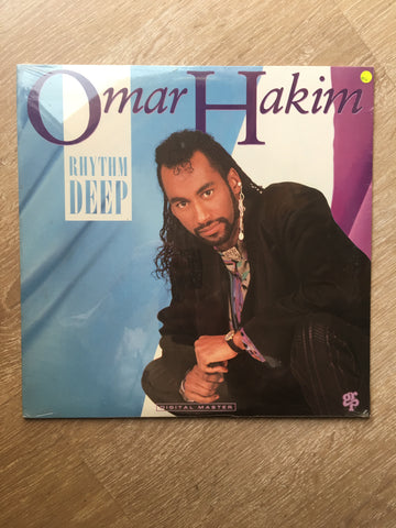 Omar Hakim ‎– Rhythm Deep -  Vinyl LP - Sealed