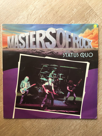 Status Quo - Masters Of Rock Series - Vinyl LP Record - Opened  - Very-Good Quality (VG) - C-Plan Audio