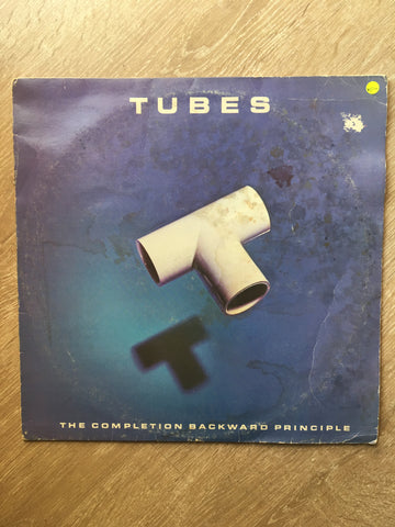 Tubes ‎– The Completion Backward Principle - Vinyl LP Record - Opened  - Very-Good Quality- (VG-) - C-Plan Audio