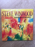 Steve Winwood - Talking Back To The Night - Vinyl LP Record - Opened  - Very-Good Quality (VG) - C-Plan Audio