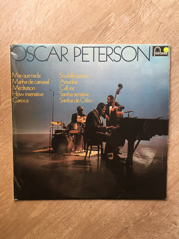 Oscar Peterson - Oscar Peterson - Vinyl LP Record - Opened  - Very-Good+ Quality (VG+)