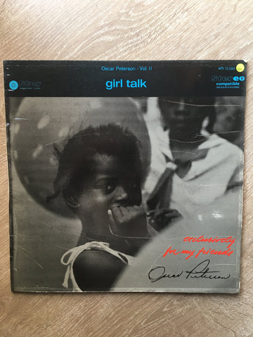 Oscar Peterson - Girl Talk - Vol II -  Vinyl LP Record - Opened  - Very-Good+ Quality (VG+)