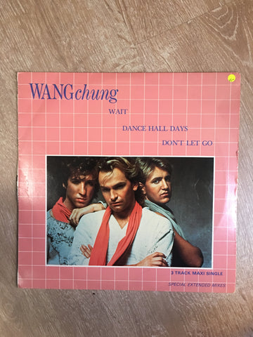 Wang Chung - 3 Track Maxi - Special Extended Mixes -  Vinyl LP Record - Opened  - Very-Good- Quality (VG-) - C-Plan Audio