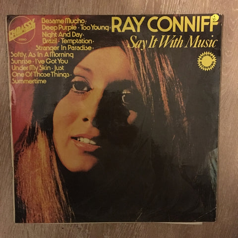 Ray Conniff - Say It With Music - Vinyl LP Record - Opened  - Very-Good Quality (VG)