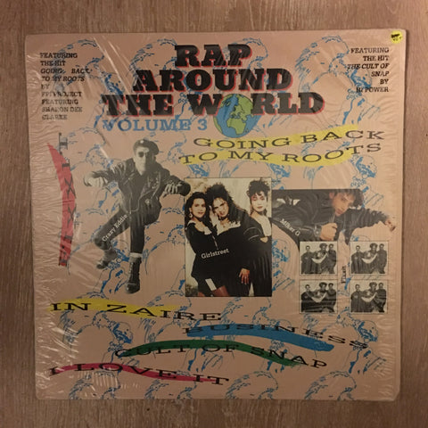 Rap Around The World Vol 3 - Vinyl LP Record - Opened  - Very-Good+ Quality (VG+) - C-Plan Audio