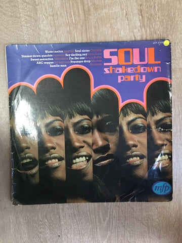 Soul - Shakedown Party - Vinyl LP Record - Opened  - Very-Good+ Quality (VG+) - C-Plan Audio