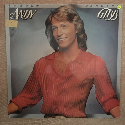 Andy Gibb - Shadow Dancing - Vinyl LP Record - Opened  - Very-Good+ Quality (VG+)