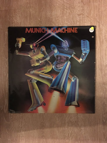Munich Machine ‎– Munich Machine - Vinyl LP Record - Opened  - Very-Good+ Quality (VG+) - C-Plan Audio