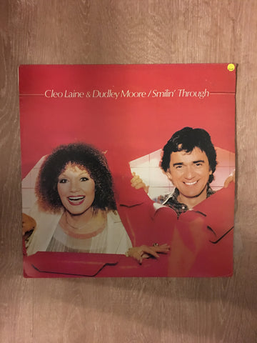 Cleo Laine and Dudley Moore - Smilin' Through - Vinyl LP Record - Opened  - Very-Good+ Quality (VG+) - C-Plan Audio