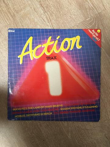 Action Trax 1 - Vinyl LP Record - Opened  - Very-Good+ Quality (VG+) - C-Plan Audio