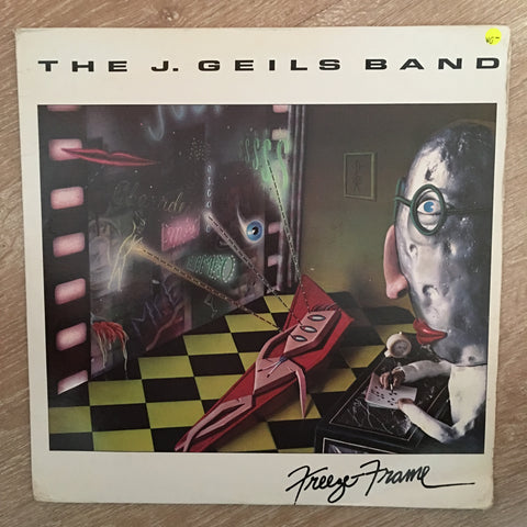 J. Geils Band - Freeze Frame - Vinyl LP Record - Opened  - Very-Good- Quality (VG-) - C-Plan Audio
