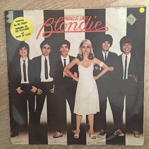 Blondie - Parallel Lines - Vinyl LP  Record - Opened  - Very-Good+ Quality (VG+)