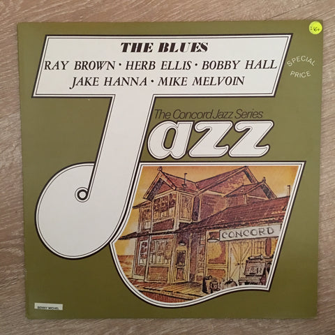 The Blues - Ray Brown, Herb Ellis ‎– Jazz/Concord - Vinyl LP  Record - Opened  - Very-Good+ Quality (VG+) - C-Plan Audio